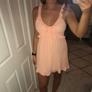 never worn- babydoll dress